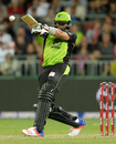 Jacques Kallis stayed unbeaten on 49, Sydney Thunder v Adelaide Strikers, BBL 2015-16, Sydney, December 28, 2015