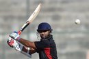 Parthiv Patel targets the off side, Delhi v Gujarat, Vijay Hazare Trophy final, Bangalore, December 28, 2015