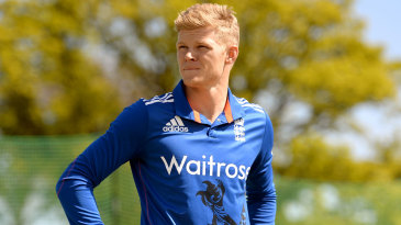 Sam Billings at a training session