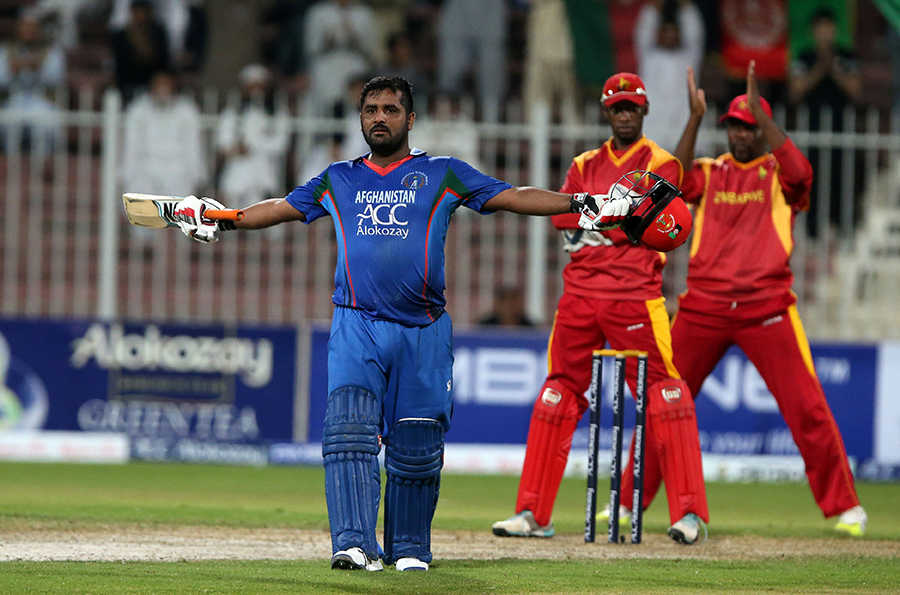 Mohammad Shahzad hits the 4th highest score in all T20 Internationals