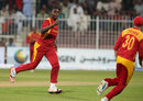 Elton Chigumbura's wickets brought Zimbabwe back, Afghanistan v Zimbabwe, 2nd ODI, Sharjah, December 29, 2015