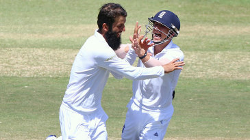 Moeen Ali enjoyed a morning to savour