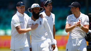 Moeen Ali was Man of the Match for his seven-wicket haul