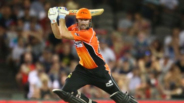 Shaun Marsh laces the ball through the off side