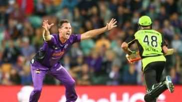 Shaun Tait produced a fiery spell of 3 for 16