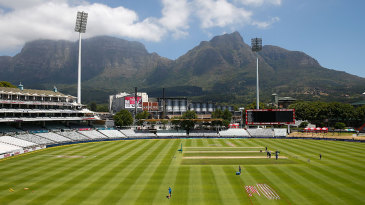 Newlands in all its glory ahead of the New Year Test