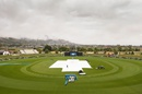 The morning was wet at Saxton Oval, New Zealand v Sri Lanka, 4th ODI, Nelson, January 2, 2016