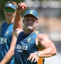 Hardus Viljoen at a training session ahead of the New Year's Test, Cape Town, January 1, 2016
