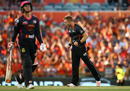 David Willey accounted for Nic Maddinson early in the game, Perth Scorchers v Sydney Sixers, Big Bash League 2015-16, Perth, January 2, 2016