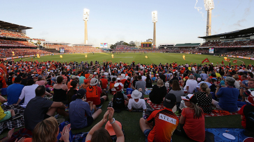 The BBL game at the WACA saw another sellout crowd