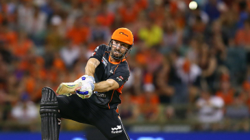 Shaun Marsh steered Perth Scorchers home with a brisk 63 not out