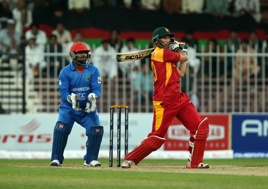 Masakadza added 104 for the eighth wicket with Graeme Cremer, who stroked 58, as Zimbabwe eventually mustered 175