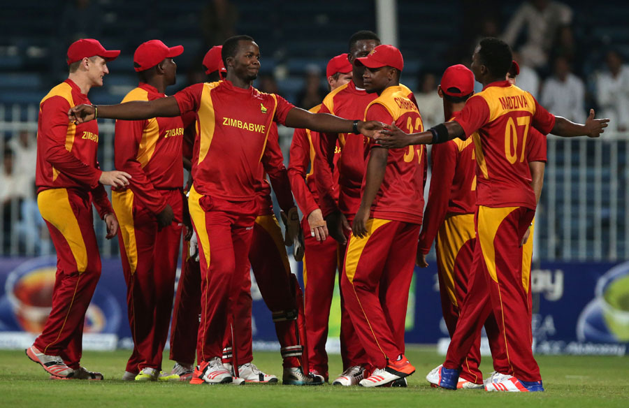 Jongwe and Neville Madziva took eight wickets between them, as Zimbabwe bowled Afghanistan out for 58 to pull one back in the five-match series