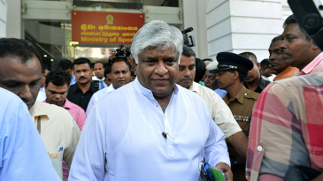 Arjuna Ranatunga lost the election for the SLC vice-president's post