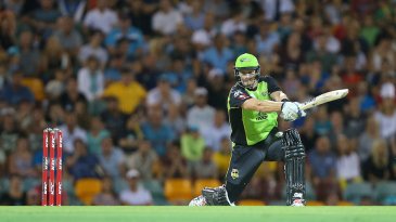 Shane Watson takes the aerial route