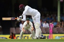Carlos Brathwaite was knocked over by a ripper, Australia v West Indies, 3rd Test, Sydney, 2nd day, January 4, 2016