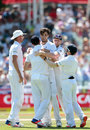 Steven Finn finally broke South Africa's third-wicket stand, South Africa v England, 2nd Test, Cape Town, 3rd day, January 4, 2016
