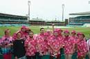 The SCG goes pink