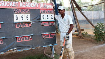 Fifteen-year-old Pranav Dhanawade scored a record 652*