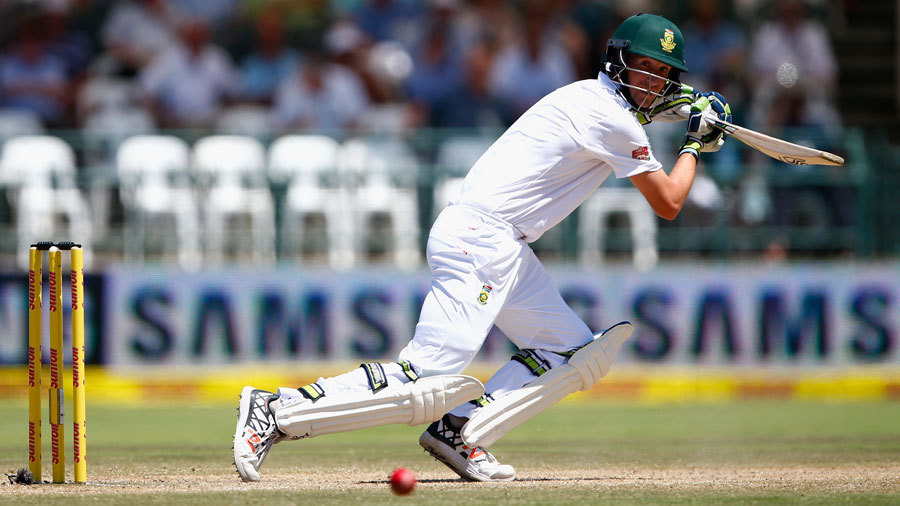 Chris Morris helped steady the ship on debut, alongside Temba Bavuma