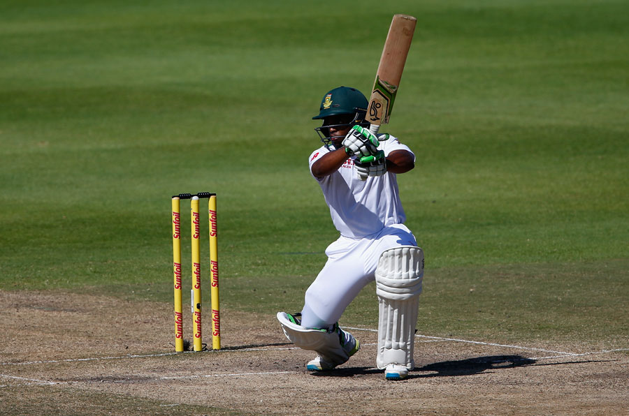 Bavuma played plenty of shots during a seventh-wicket stand worth 167