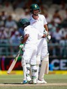 Temba Bavuma and Chris Morris added 167 for the seventh wicket, South Africa v England, 2nd Test, Cape Town, 4th day, January 5, 2015