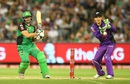 Luke Wright plays a pull during his unbeaten 51, Melbourne Stars v Hobart Hurricanes, BBL 2015-16, Melbourne, January 6, 2016