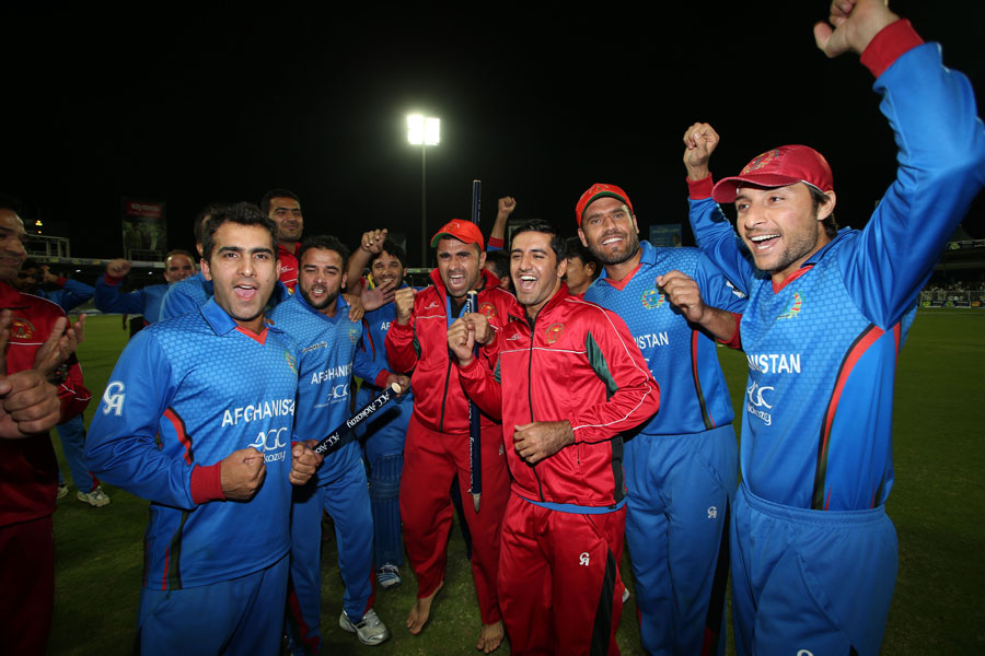 The win not only secured the series for Afghanistan 3-2, but ensured the team stormed into the top 10 of the ICC's ODI rankings. The players marked their memorable achievement with wild celebrations