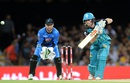 Jimmy Peirson goes through the off side during his 51, Brisbane Heat v Adelaide Strikers, BBL 2015-16, Brisbane, January 8, 2016