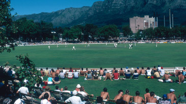 Crowds flock to Newlands to watch South Africa take on a rebel international side