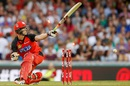 Tom Beaton was bowled for 29, Melbourne Renegades v Melbourne Stars, BBL 2015-16, Melbourne, January 9, 2016