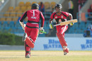 Kyle Hope and Kjorn Ottley shared an unbeaten 162-run partnership, Trinidad & Tobago v Barbados, Nagico Super50 2016, Port-of-Spain, January 9, 2016