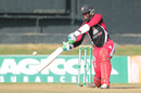 Kyle Hope hits the winning runs after registering his maiden List A fifty, Trinidad & Tobago v Barbados, Nagico Super50 2016, Port-of-Spain, January 9, 2016