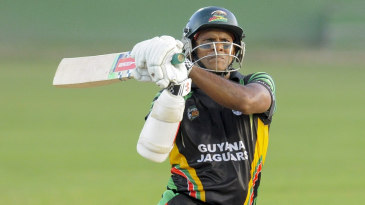 Shivnarine Chanderpaul top-scored in the match with 83