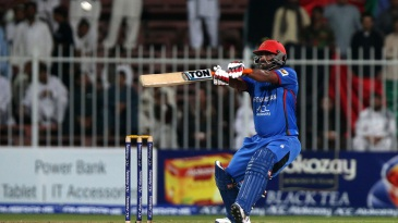 Mohammad Shahzad got to his century in only 52 balls