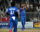 Dawlat Zadran broke the opening stand, Afghanistan v Zimbabwe, 2nd T20I, Sharjah, January 10, 2016