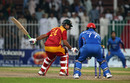 Sikandar Raza was left way out of his crease, Afghanistan v Zimbabwe, 2nd T20I, Sharjah, January 10, 2016