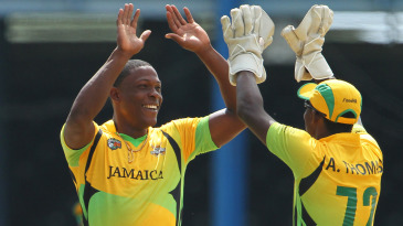 Sheldon Cottrell took 3 for 18 and struck a pivotal 16 not out