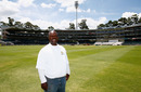 Wanderers groundsman Bethuel Buthelezi at the ground, Johannesburg, January 11, 2016