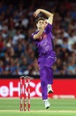 Simon Milenko nailed those yorkers in the death, Adelaide Strikers v Hobart Hurricanes, Big Bash League 2015-16, Adelaide, January 13, 2016