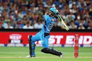 Jake Lehmann hit a six off the last ball to win the game, Adelaide Strikers v Hobart Hurricanes, Big Bash League 2015-16, Adelaide, January 13, 2016