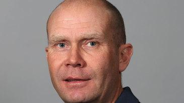 Michael Burns, ECB umpire, headshot