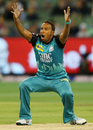Samuel Badree appeals for a wicket, Melbourne Stars v Brisbane Heat, Big Bash League 2015-16, Melbourne, MCG, January 14, 2016