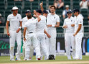 Steven Finn removed Hashim Amla in a magnificent spell, South Africa v England, 3rd Test, Johannesburg, 1st day, January 14, 2016
