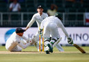 Jonny Bairstow did superbly well to complete the run out of Temba Bavuma, South Africa v England, 3rd Test, Johannesburg, 1st day, January 14, 2016
