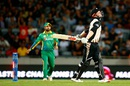 Colin Munro was bowled by Wahab Riaz, New Zealand v Pakistan, 1st T20I, Auckland, January 15, 2016