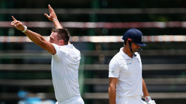 Hardus Viljoen removed Alastair Cook with his first ball in Test cricket