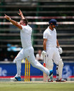 Hardus Viljoen removed Alastair Cook with his first ball in Test cricket, South Africa v England, 3rd Test, Johannesburg, 2nd day, January 15, 2016
