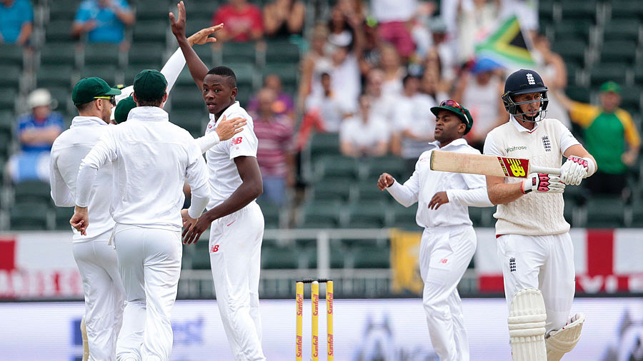 South Africa's day started promisingly when Joe Root fell in the third over of the morning