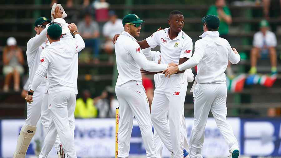 Kagiso Rabada was again impressive, en route to his maiden five-wicket Test haul